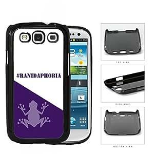 Hashtag Ranidaphobia School Spirit Slogan Chant Samsung Galaxy S3 I9300 Hard Snap on Plastic Cell Phone Cover
