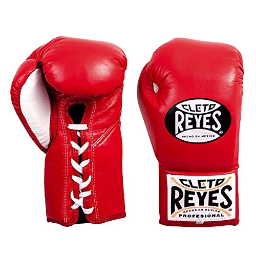 (Cleto Reyes Professional Boxing Gloves for Man and Woman (10oz, Red))