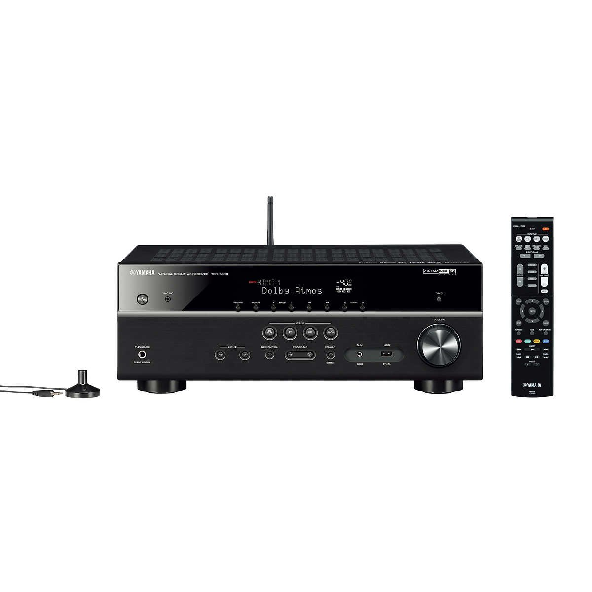 Yamaha TSR-5830 7.2 Channel Network AV Receiver by Yamaha
