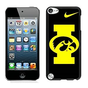 Hot Sale iPod Touch 5 Case ,Popular And Unique Designed With iowa hawkeyes Black iPod Touch 5 High Quality Cover
