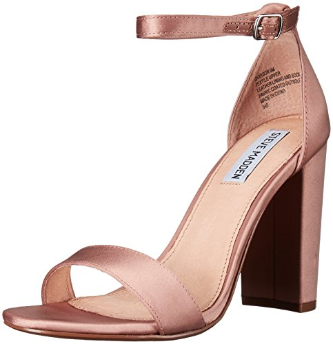 Steve Madden Women Carrson Dress Sandal Blush Satin