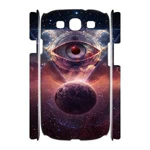 O-K-O-U2061330 3D Art Print Design Phone Back Case Customized Hard Shell Protection Samsung Galaxy S3 I9300