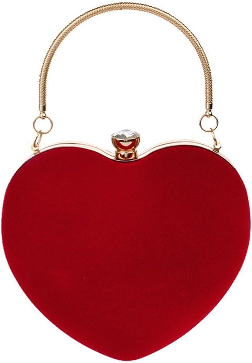 Sherry Heart Shape Clutch...