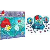 Little Mermaid Party Decorations Bundle - Scene Setter and Table Decorating Kit