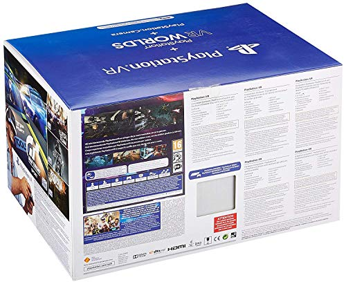PlayStation 4 Virtual Reality + Camera + VR Worlds Voucher [neue PSVR Version] 4
