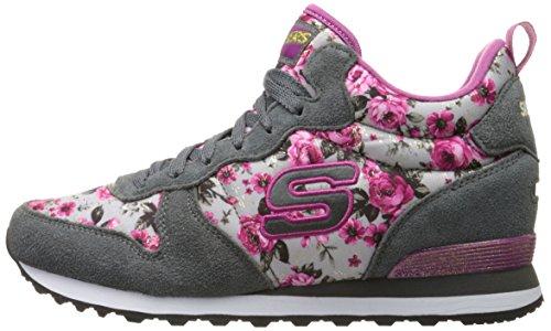Og Basses gypk 85 Sneakers Rose Gris Femme nbsp;hollywood Skechers Td48XT