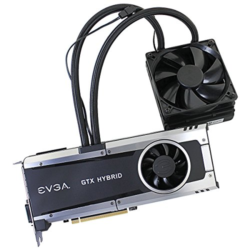 EVGA GeForce GTX 980 Ti 6GB HYBRID GAMING, All in One No Hassle Water Cooling, Just Plug and Play Graphics Card 06G-P4-1996-KR