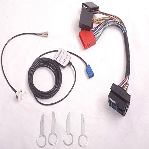 FidgetGear RNS-E Navigation System Plug & Retrofit Plug Installation Kit for Audi A3 A4 A6
