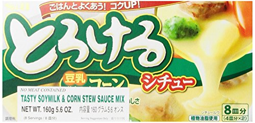 S&B Tasty Stew Mix Soymilk and Corn, 5.6-Ounce