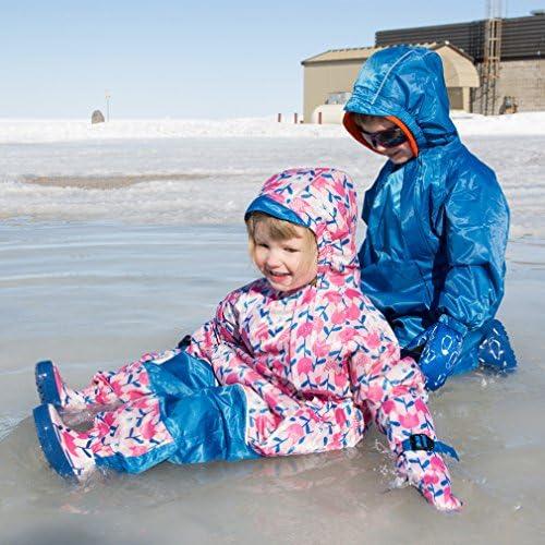 JAN & JUL Toddlers' Waterproof One-Piece Lined Rain or Snow-suit