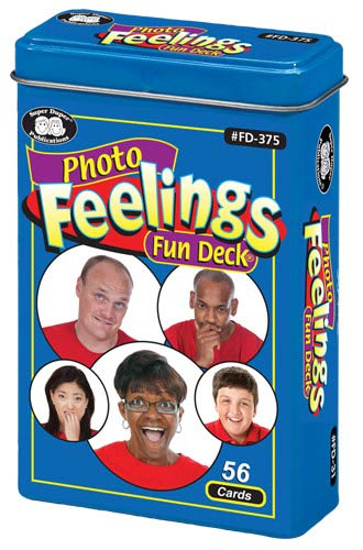 Photo Feelings Fun Deck Cards - Super Duper Educational Learning Toy for Kids by Super Duper Publications