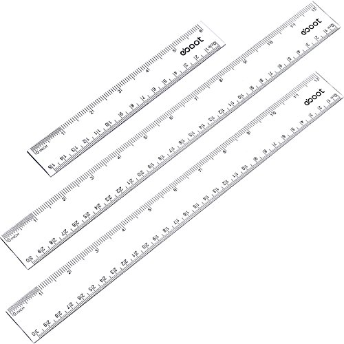 eBoot Pieces Plastic Straight Measuring
