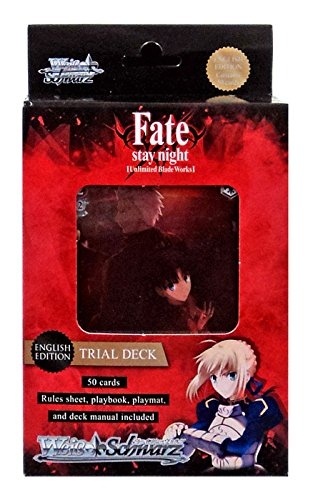 Weib / Schwarz Fate/Stay Night Unlimited Blade Works Trial Deck Card Game (Fate Stay Night Unlimited Blade Works Game)