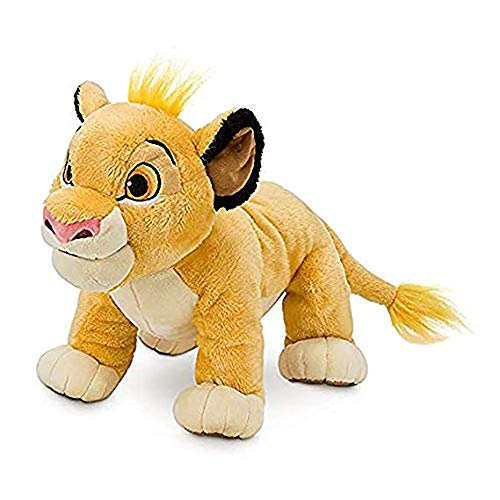 Lion Soft Doll - New Cute 1pcs Sitting High 26cm Simba The Lion King Plush Toys Simba Soft Stuffed Animals Doll for Children Gifts Yellow