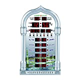 EQuan Muslim Azan Clock Mosque Digital Prayer Time Automatic Wall Clock with Inteligent Remote Control - 4008