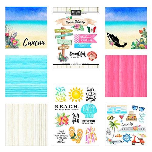 Scrapbook Customs Cancun Getaway Scrapbook Kit