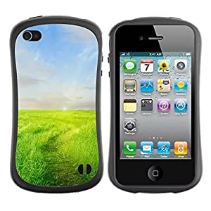 "Hypernova Slim Fit Dual Barniz Protector Caso Case Funda Para Apple iPhone 4 / iPhone 4S [Pradera""]"