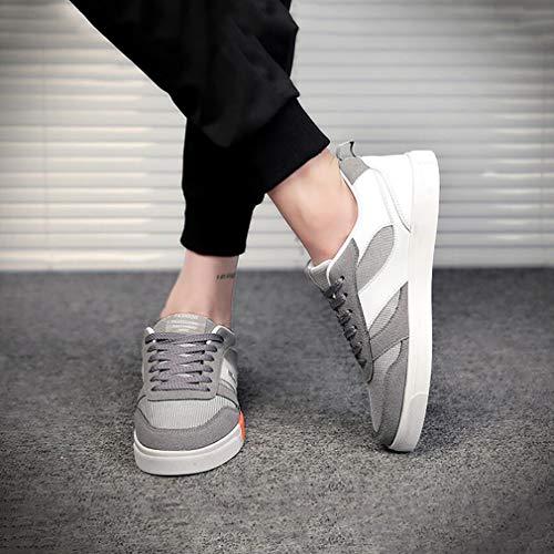 HY Sneakers Scarpe Primavera Comodo Scarpe Personalit Autunno Maglia Casual Uomo Uomo Casual g6AgB