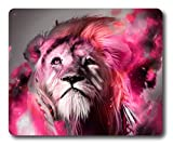 fire tiger Personalized Custom Gaming Mouse Pad Rubber Durable Computer Desk Stationery Accessories Mouse Pads For Gift