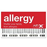 AIRx Filters Allergy 16x28x6 Air Filter MERV 11 AC Furnace Pleated Air Filter Replacement for Aprilaire/Space-Gard 401 Box of 1, Made in the USA