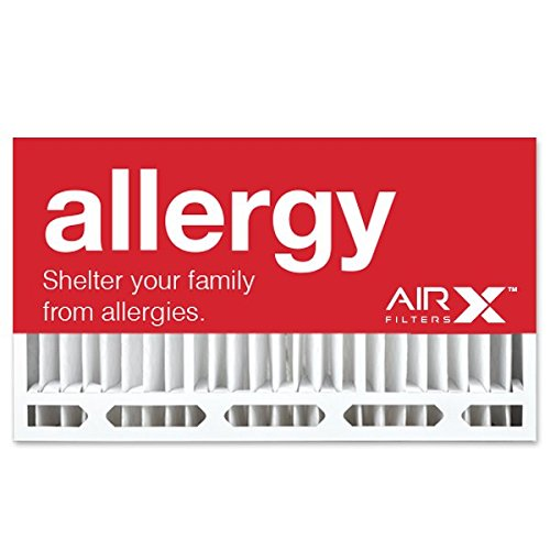 AIRx Filters Allergy 16x28x6 Air Filter MERV 11 AC Furnace Pleated Air Filter Replacement for Aprilaire/Space-Gard 401 Box of 1, Made in the USA by AIRx Filters