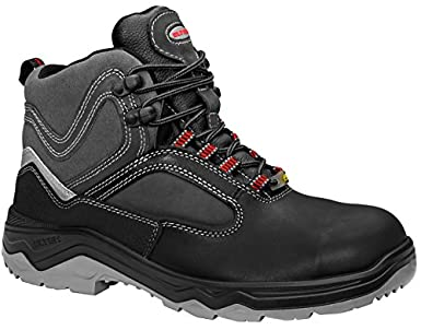 ELTEN - Sicherheitsstiefel Lex ESD S3, Zapatos de Seguridad Unisex Adulto, Negro (Schwarz