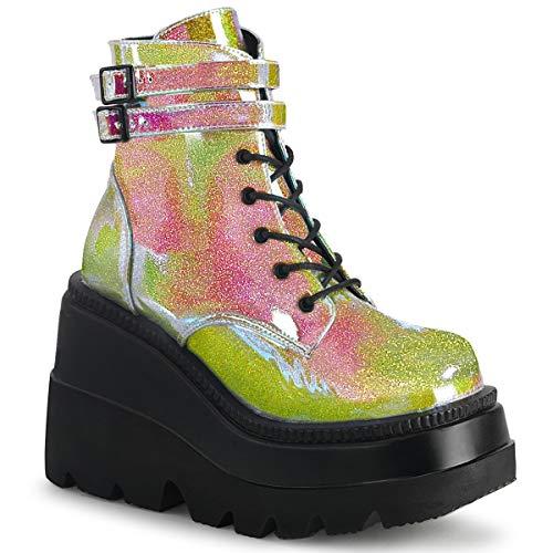 Demonia Womens SHAKER-52/PNGVL Boots