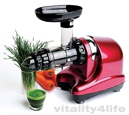 Extractor de zumo Oscar Neo DA-1000-/ rojo burdeos: Amazon.es: Hogar