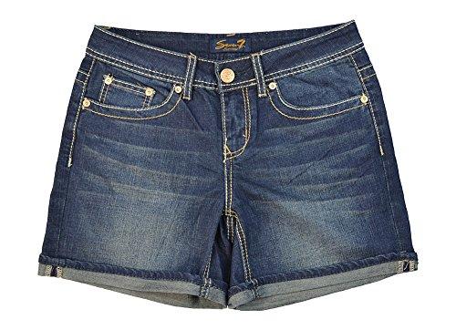 Discount Alfa Global Women's Denim Fold Over Short for sale