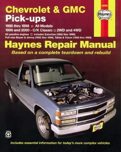 Chevrolet and GMC Pick-ups, 1988-98; C/K Classic, 1999-2000 (Haynes Repair Manuals) - Cam Pickup