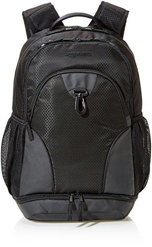 AmazonBasics Sport Laptop Backpack - Black ()