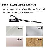 50 Pcs Adjustable Cable Clips,Viaky Self Adhesive
