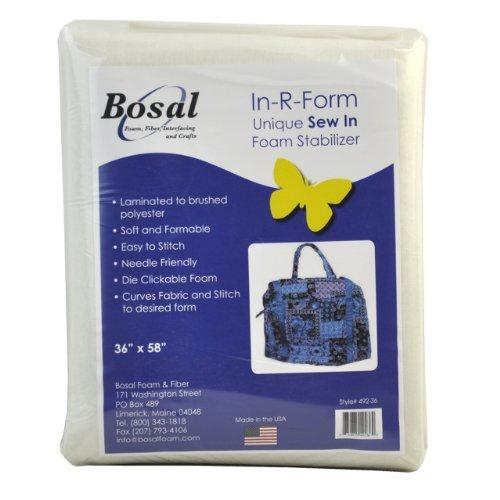 Belagio Enterprises Bosal-492-36 In-R-Form Sew-In Packaged Craft Suplies, 36 by 58-Inch