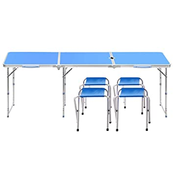 Folding table Mesas y sillas Plegables, Ajuste de 3 ...