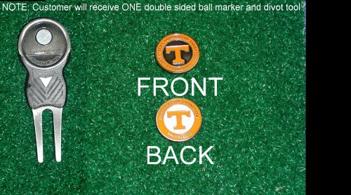 Tennesse University Golf Divot Tool w/ One Double Sided Ball Mar