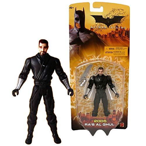 DC Batman Year 2005 Movie Series 'Batman Begins' 5-1 / 2 Inch Tall Action Figure - Ra's Al Ghul with Sword Gauntlet ...