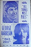 """George Harrison """"All Things Must Pass"""" Poster"""