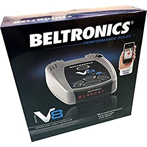 Beltronics V8 Radar and Laser Detector - RED LED Display