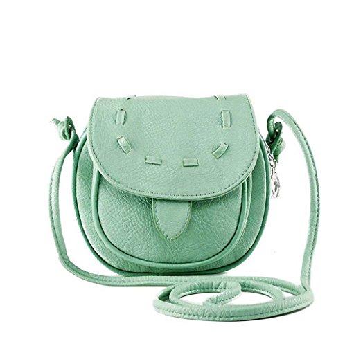 TOOPOOT(TM) Lovely Girl Mini Small Shoulder Bag (Mint Green)