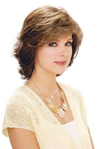 Natalie Wig (Estetica Design NATALIE PAGE STYLE THAT JUST BRUSHES Womens Wig RH26-613RT8 Color)