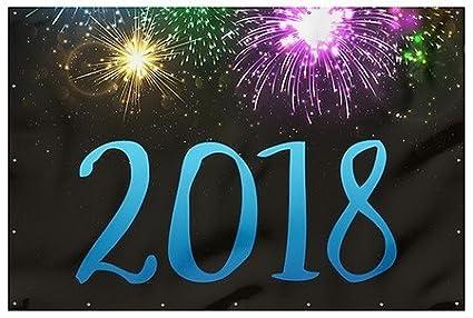 cgsignlab fireworks new years 2018 heavy duty outdoor vinyl banner