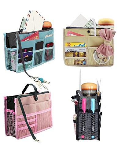 Dahlia Women's Patented Purse Organizer Insert for Handbags