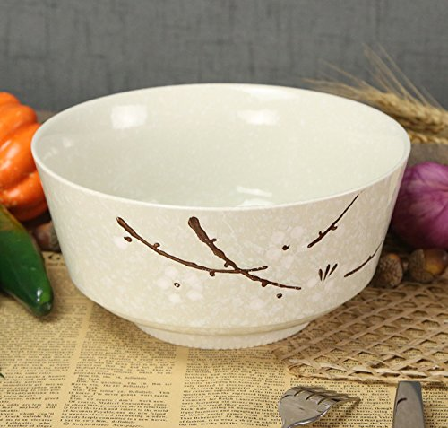 Marshel Soup Bowl Japan Design Sakura Cherry Blossom Salad Noodle plate dish (Japan Salad Plate)