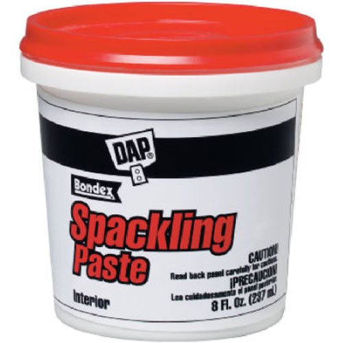 Dap 10200 Spackling Putty, 1/2-Pint