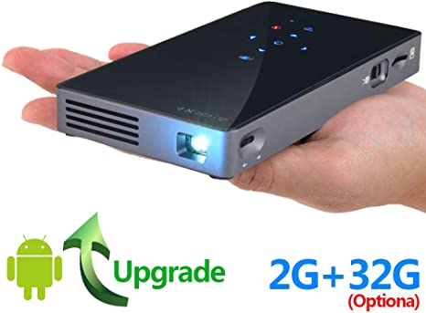 SWEET Mini Proyector Portatil Full HD,Mini Proyector PortáTil WiFi ...