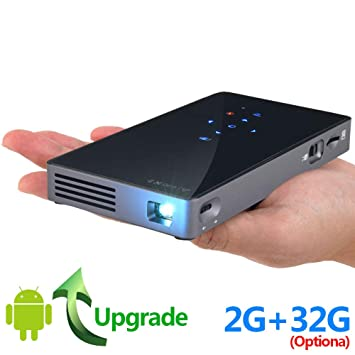 SWEET Mini Proyector Portatil Full HD,Mini Proyector PortáTil WiFi ...