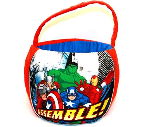 Marvel Avengers Assemble Small Plush Easter Basket ()