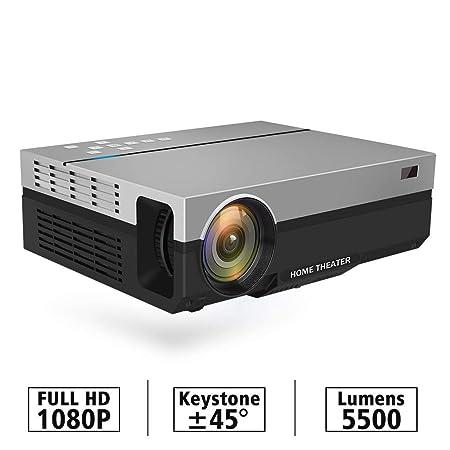 AI LIFE Proyector Full HD Nativo 1080P 5500 lúmenes Video LED LCD ...