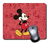 Gaming Mouse Pad Waterproof Mousepads for Laptop Desktop Computer,Size 9.6 X 8 INCH - Disney Mickey Mouse