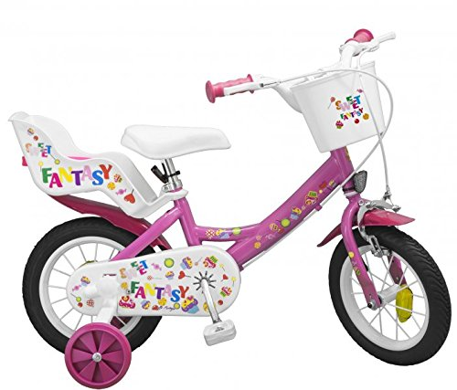 12 ZOLL Kinderfahrrad Mädchenfahrrad Kinder Kinderrad Fahrrad Rad Bike SWEET FANTASY NEU MODELL Toimsa
